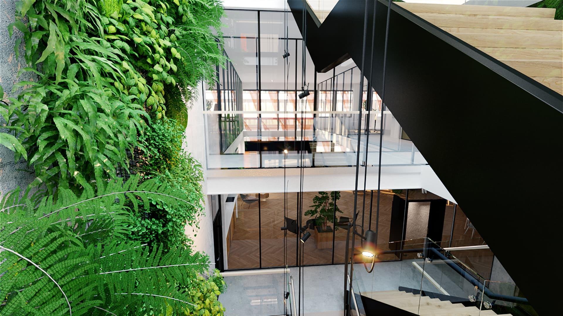 Tuottavuutesi on meille tärkeää, siksi Swing House on suunniteltu eritoten monitilaympäristötyöskentelyyn