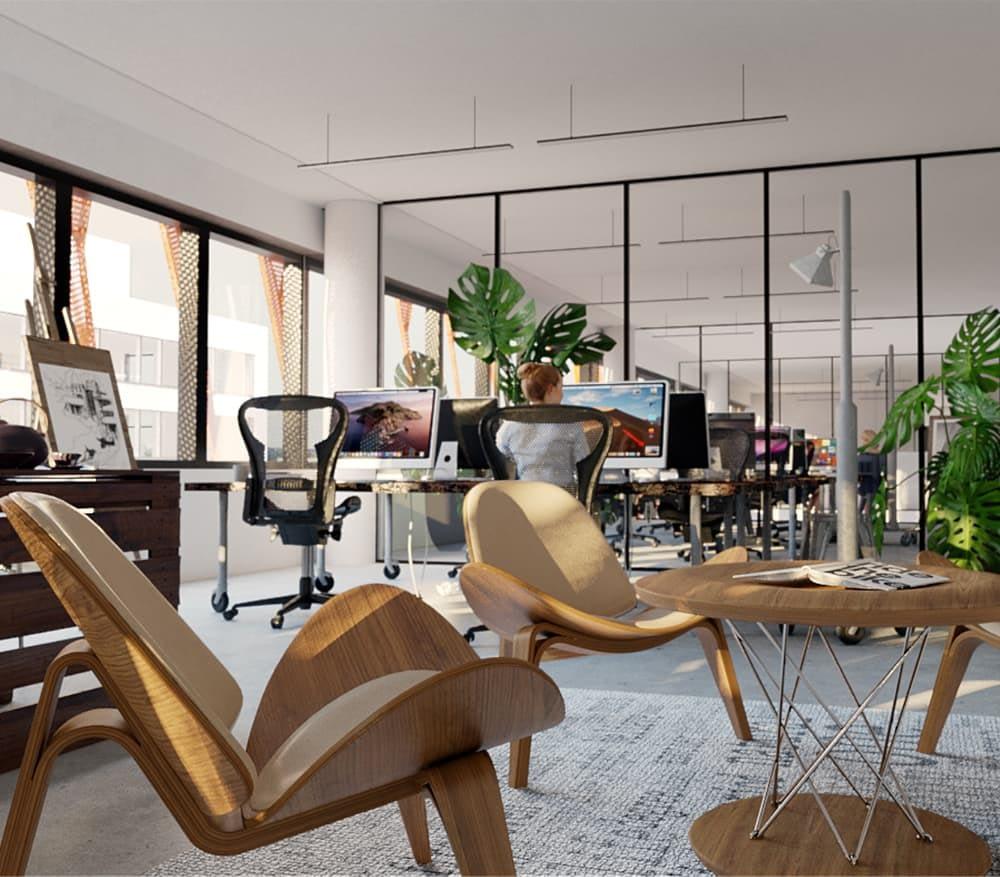 Swing House tilat ovat helposti muokattavissa organisaatiosi koolle ja työkulttuurille sopiviksi